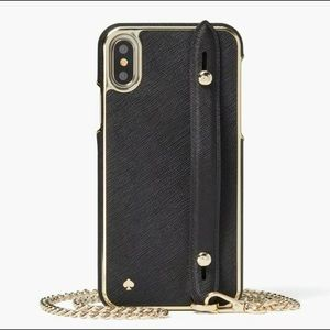 kate spade crossbody case for iPhone X/XS